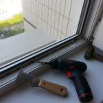 Ремонт пластиковых окон, замена уплотнителя